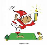 Weihnachten kleiner Yogi