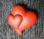 Herzen der Liebe am Valentinstag