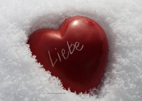 Herz mit Liebe