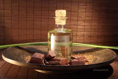 Body Oil Schokolade