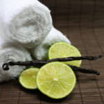 Vanille und Limetten Duft im Spa
