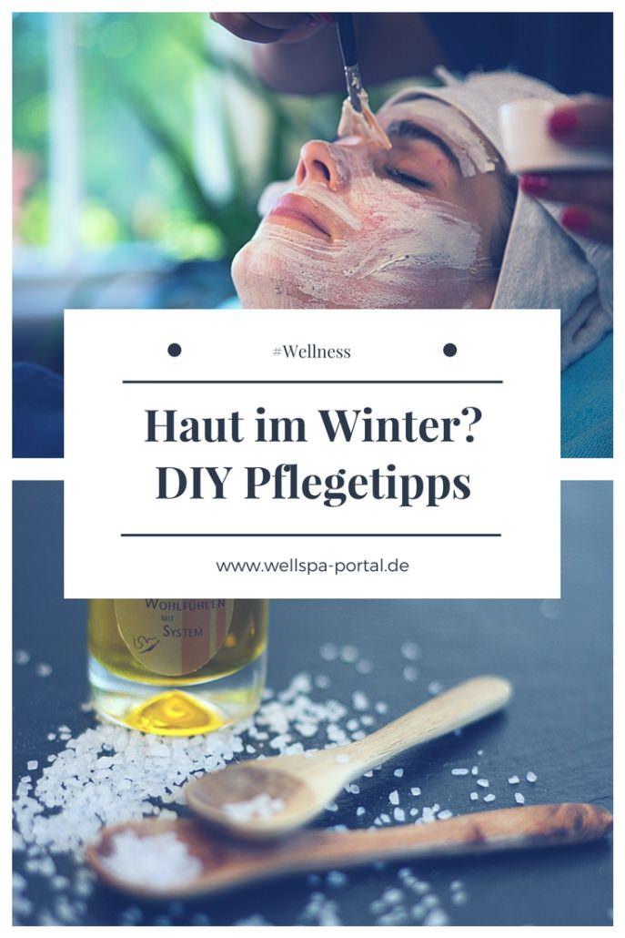 Hautpflege im Winter. #DIY #Tipps für die Pflege strapazierter Haut besonders in der kalten Jahreszeit. #WinterWellness für zuhause