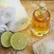 Body Oil trifft Frühling in der Sauna