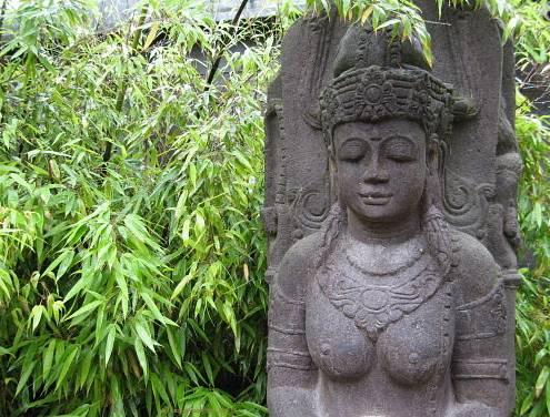 WellSpa-Portal Budda im Bambus