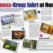 """Willkommen an Bord der """"Wellness-Kreuzfahrt at home"""""""