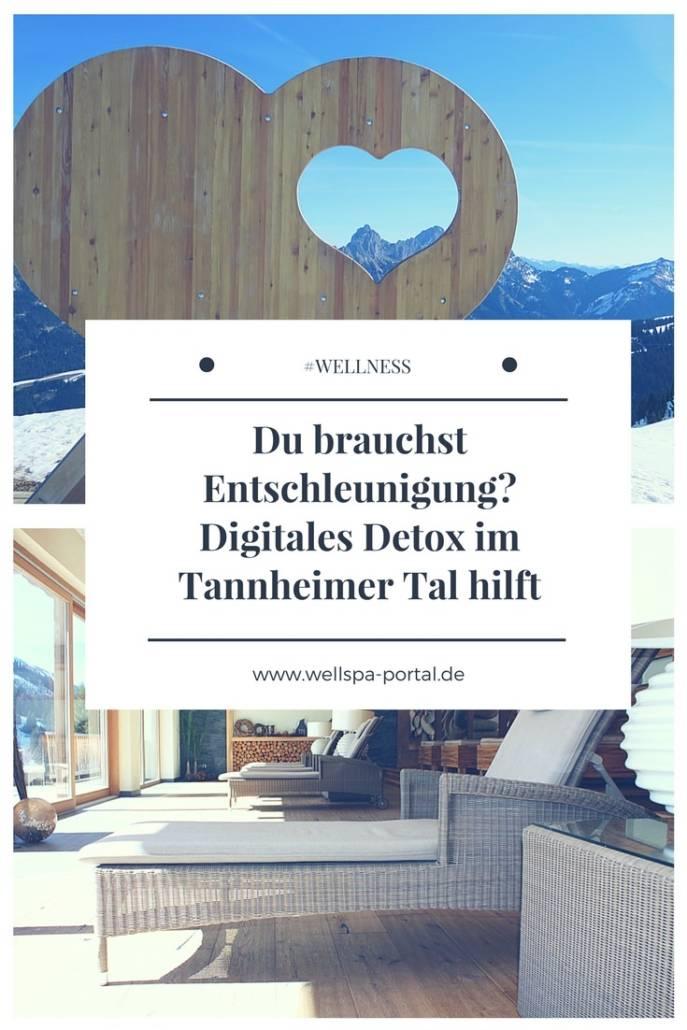 Entschleunigung gefällig? Digital Detox im Tannheimer Tal kann auf einer Reise nach Österreich wirkungsvoll sein. #Urlaub #Österreich #Wellness #Wellnesshotel #Genussreisetipps #Auszeit