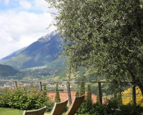 Südtirol an sich ist bereits ein Genussreisetipp - Garten Hotel Erika in Dorf Tirol