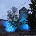 Kaiserburg Nürnberg Blaue Nacht