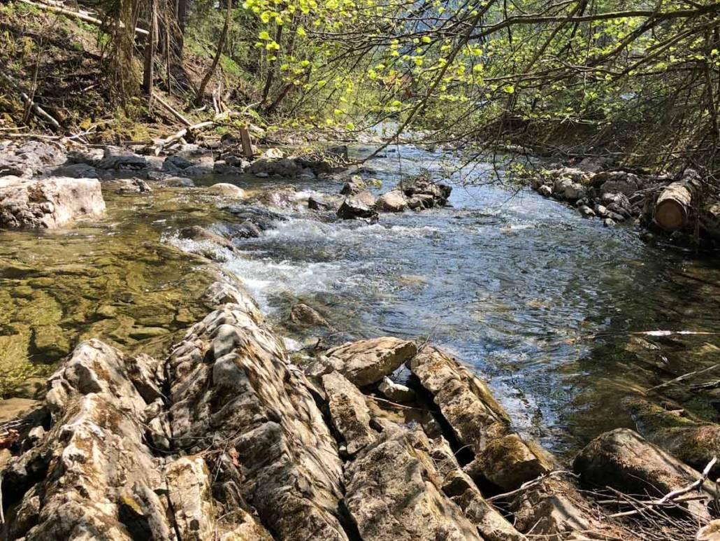 Genusswandern zum Jachenau Wasserfall