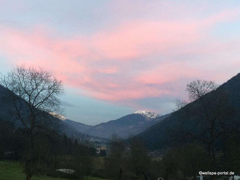 Dolomiten Trentino Sonnenaufgang