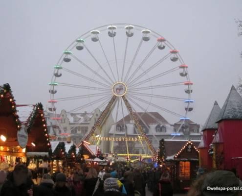 Weihnachtsmarkt Erfurt Riesenrad