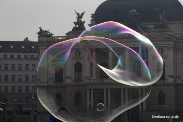 Zürich Seifenblasen