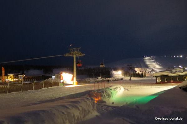 Ylläs Skiregion nördlich des Polarkreis