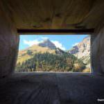 Ausblick in die Bergwelt Ahornboden