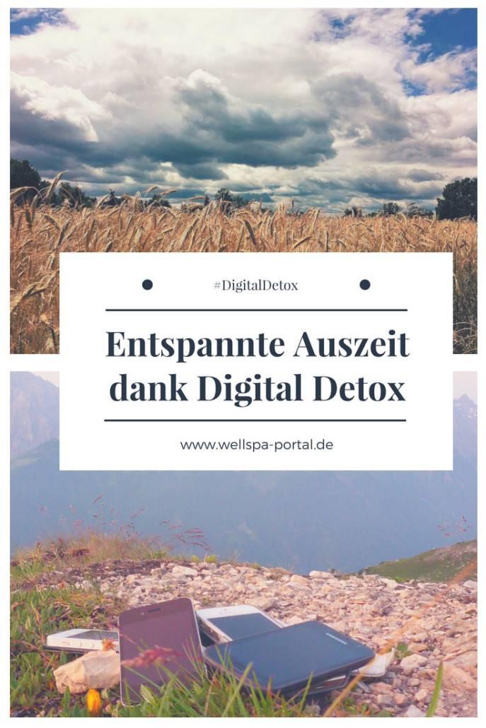 Auszeit vom stressigen Alltag. Digital Detox kann eine große #Hilfe sein. Wie es ganz einfach klapp, #Tipps und #Ideen für #DigitalDetox #Wellness #Detox #Auszeit