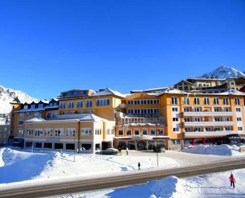 Aussenansicht Hotel Steiner Obertauern