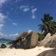 Seychellen Strand La Digue Source d´Argent