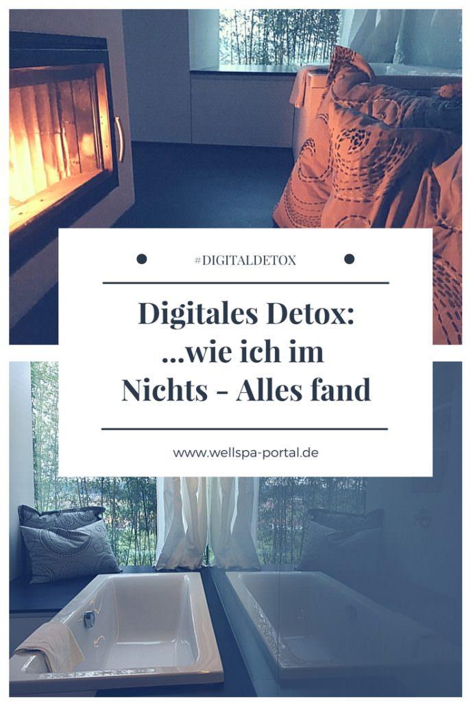 Digitales Detox... Genuss im Nichts. Auszeit, Genussreisetipps im entspannt, schönen Wellnesshotel der anderen Art. Ungewöhnlich Übernachten