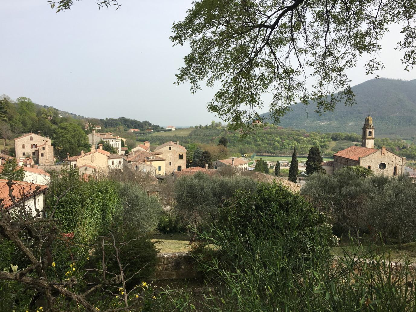 Eugenische Hügel Arqua Petrarca
