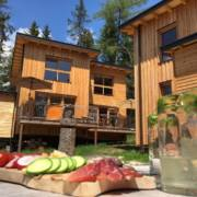 Südtirol Deutsch Nonsberg St. Felix Felizitas Forest Chalet Resort