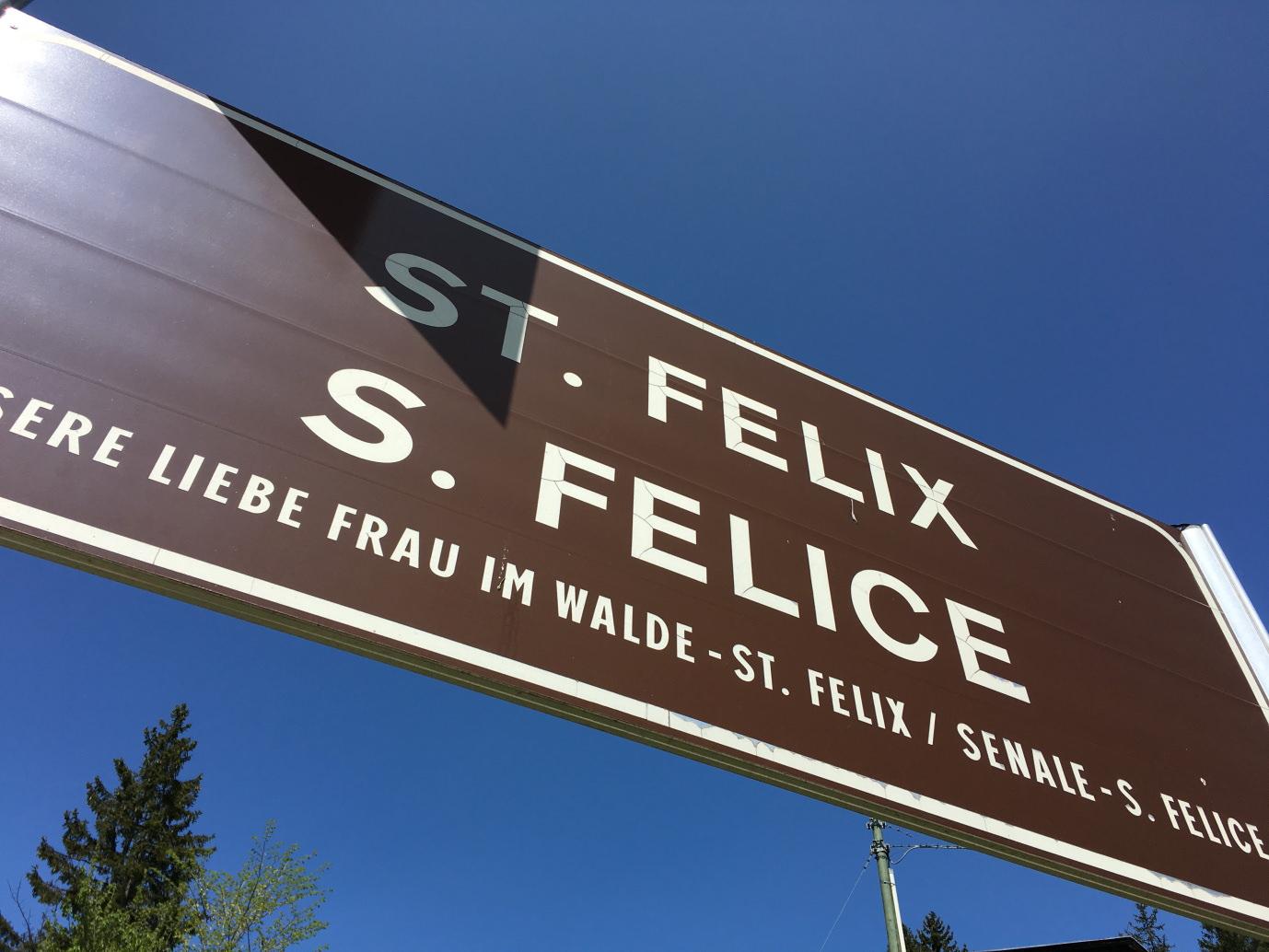 Südtirol Deutsch Nonsberg St. Felix