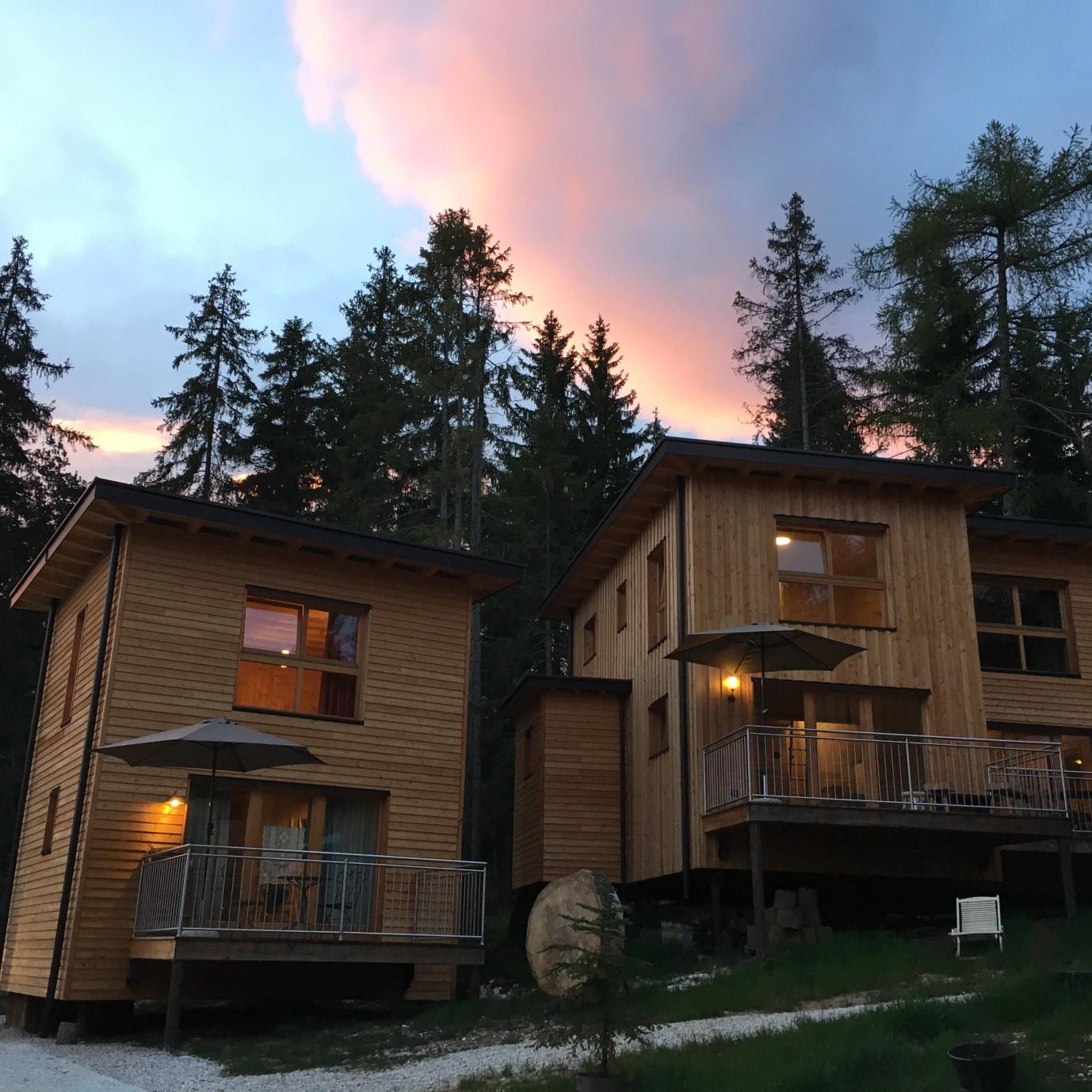Genussreisetipps Südtirol San Felix Forest Chalet Resort