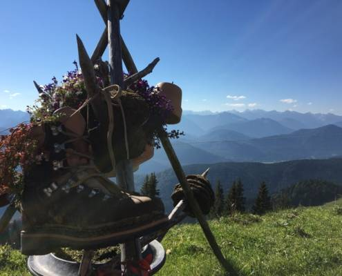 Wandern Wellness Glück Brauneck Bayern