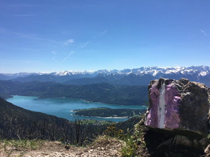 Herzogstand Wandern Walkende Alpen Oberland Voralpenland