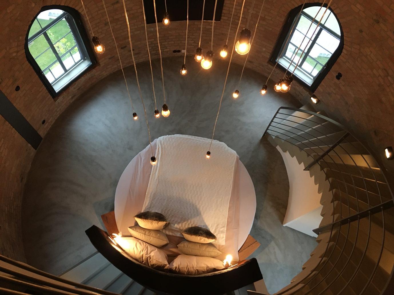 Ungewöhnlich Übernachten im alten Wasserturm Bad Saarow