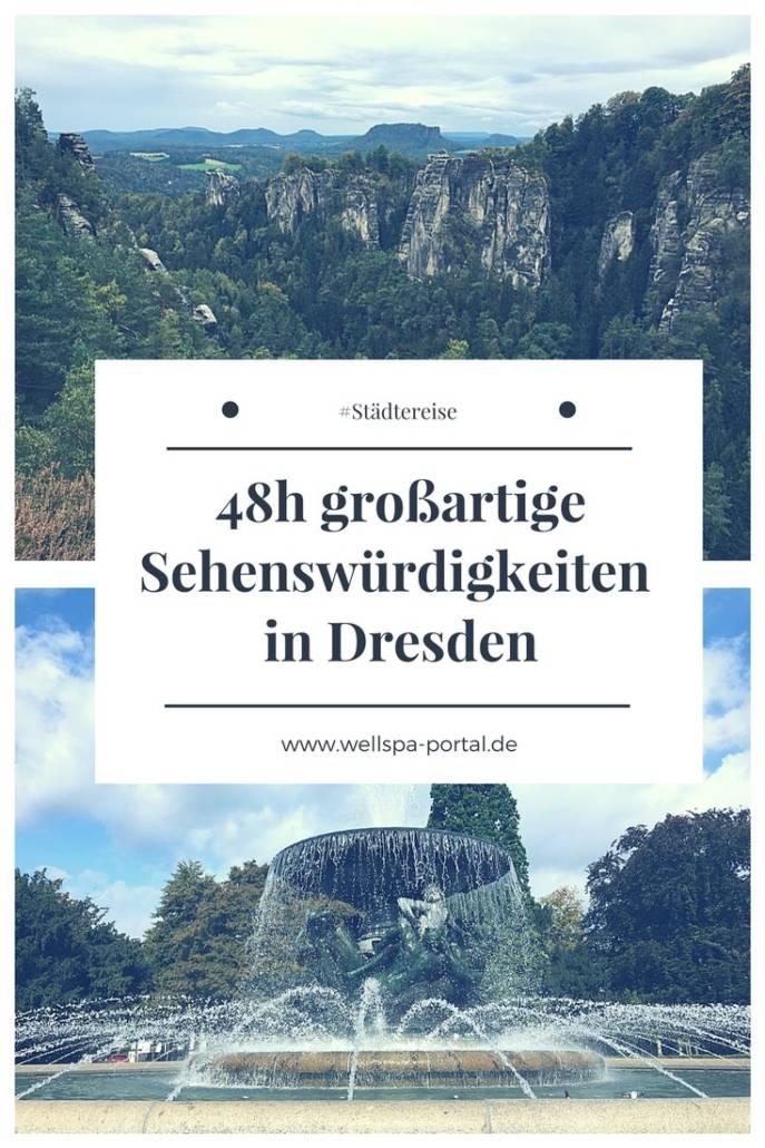 Städtereise Dresden. Bei einem Citytrip die Sehenswürdigkeiten in und um Dresden erleben. Von Wandern bis Wellness, Städtetour bis ungewöhnlich Übernachten. Dresden bietet tolle Ecken für einen Ausflug, Reise oder Genussreisetipps. #Travel #Dresden #Citytrip #Städtereise #ungewöhnlichÜbernachten