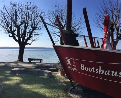 #Seenliebe Ammersee Herrsching Bootshaus