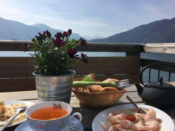 Frühstück Tegernsee Seenliebe Bayern