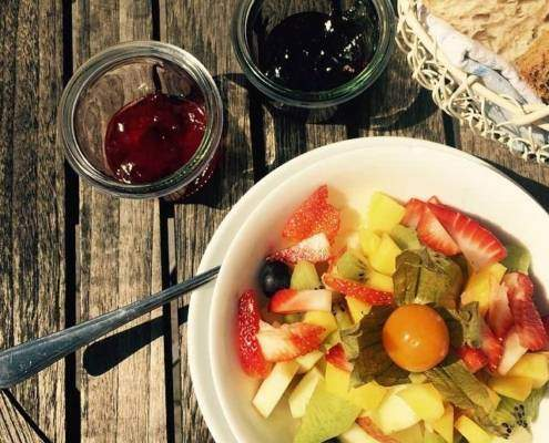 Frühstücken am Tegernsee