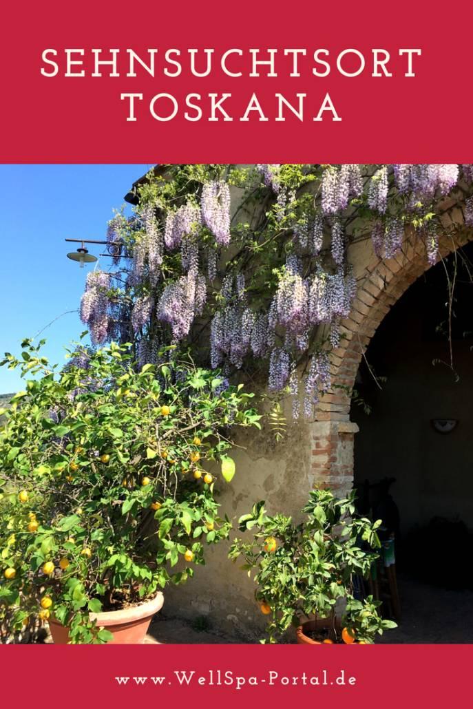 Sehnsuchtsort #Toskana. Neben #Wellness #Genuss und gerne auch #Wandern bietet die Toskana eine unverwechselbare Natur. Perfekt für #Urlaub, eine #Reise und das zu jeder Jahreszeit