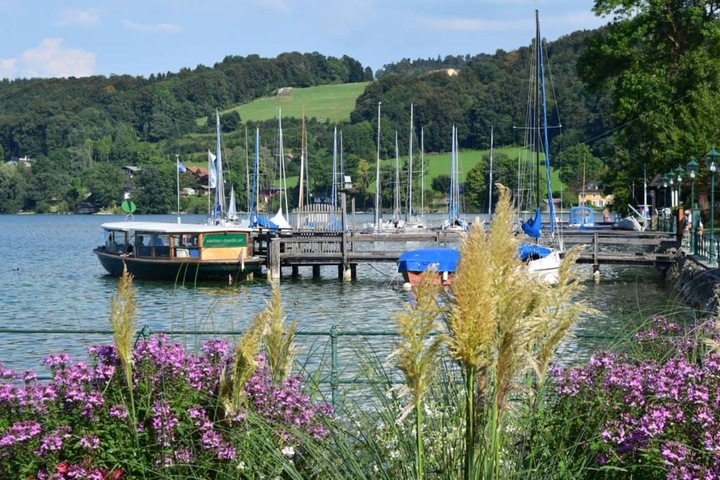Der Mattsee im Salzburger Land, einfach purer Genuss. So schön und nass ist Österreich. Diese Region ist sicher mehr als eine Reise wert