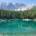 Wellness in der Natur. Am Karersee im UNESO Weltnaturerbe der Dolomiten in Südtirol fand ich auf einer Genussreise diesen traumhaften See