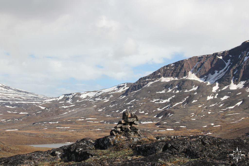 Grönland hat auch Steinmännchen