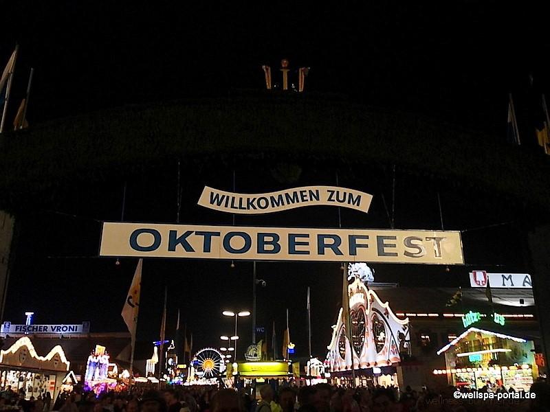 Willkommen zum Oktoberfest München. Die Wiesn der Landeshauptstadt von Bayern. 18 Tage das größte Volksfest der Welt