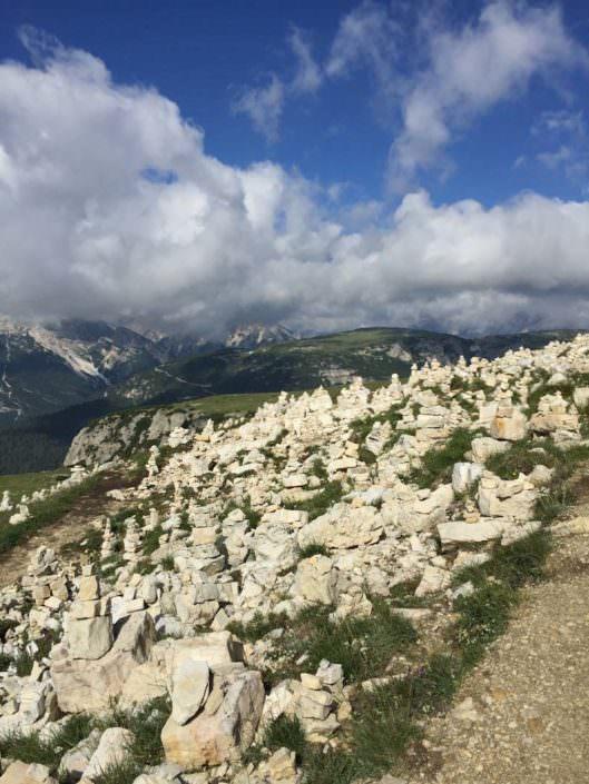 Stoamandl, gefunden beim Wandern in Tirol