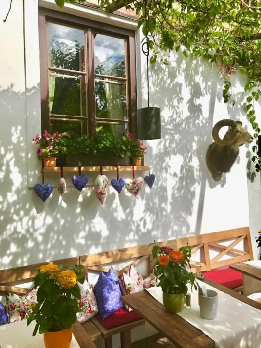 St. Gilgen: Alles ist liebevoll dekoriert.