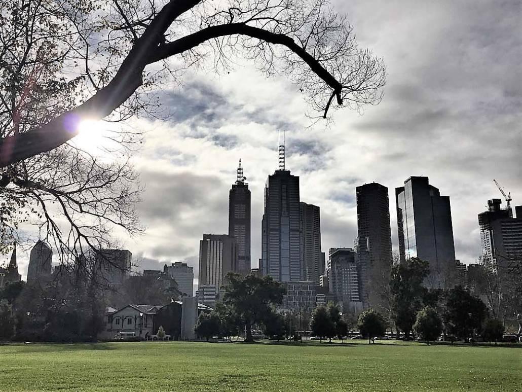 Melbouren Australien, die lebenswerteste Stadt der Welt 2017