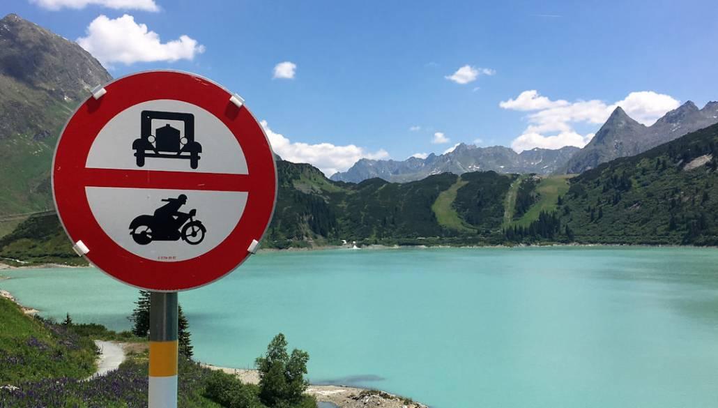 Urlaub Silvretta Montafon. Auszeit auf dem Berg Vorarlberg Österreich, Kopssee