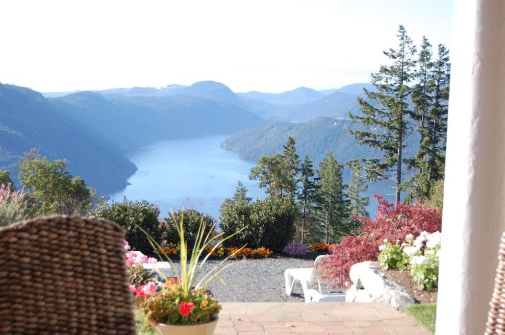 Ausblick auf Vancouver Island Kanada, eine der zehn lebenswertesten Städte der Welt. Kommt ihr mit auf Städtereise oder Citytrip