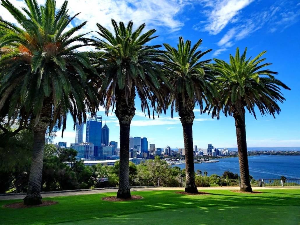 Perth Australien, eine der zehn lebenswertesten Städte der Welt. Kommt ihr mit auf Städtereise oder Citytrip