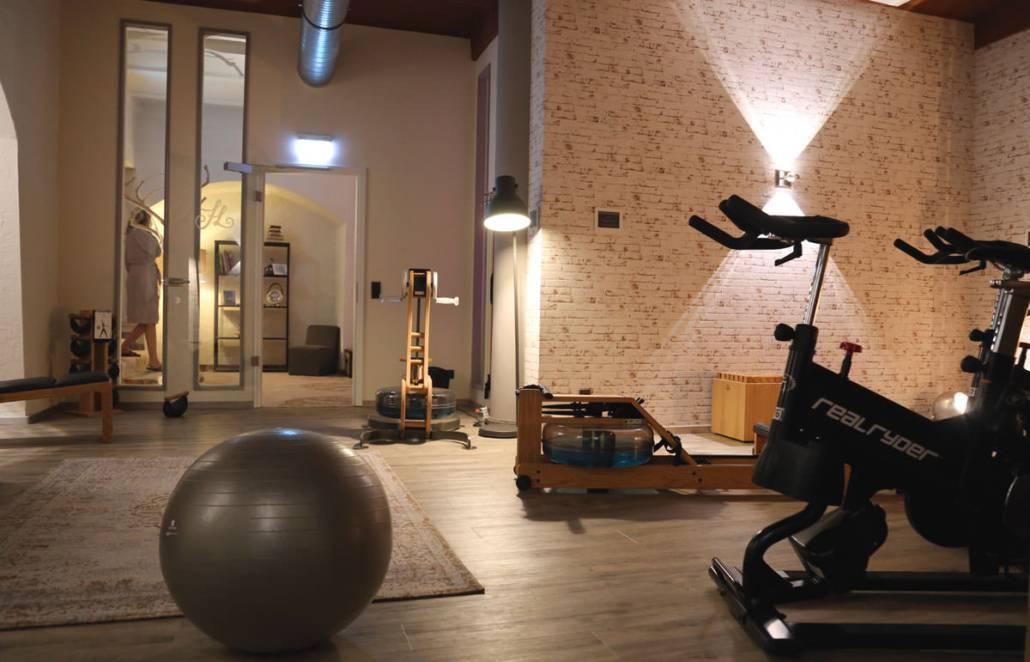 Fine Living Hotel Rheingau_Fitnessraum