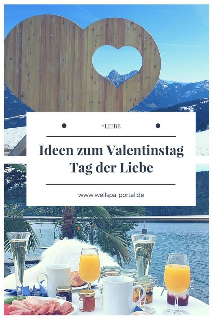 Valentinstag - Tag der Liebe. Tipps, Ideen und ein bisschen Geschichte zum Valentinstag. Romantik und Zeit zu Zweit. Genuss im Spa. Ein Kurzurlaub vom Alltag für die Liebe. #Liebe #Wellness #Valentinstag #Ideen #Tipps