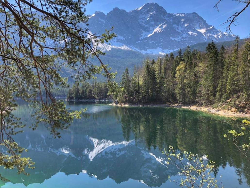 Klettersteigset Verleih Garmisch : Ausflugstipps für münchen. eibsee und zugspitze bei garmisch