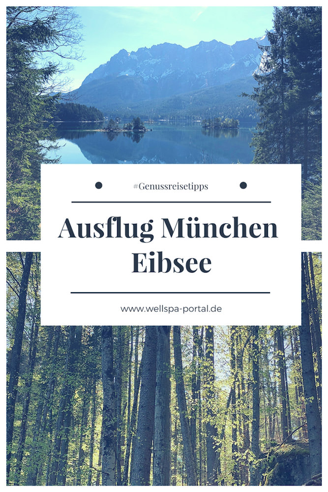 Seenliebe - Ausflugstipps von München. Eibsee und die Zugspitze Region bei Garmisch-Partenkirchen in süden von Bayern. Genuss, Wandern und echtes Wohlbefinden haben hier eine Heimat. Genussreisetipps und Ausflugstipps in unmittelbarer Nähe zu München