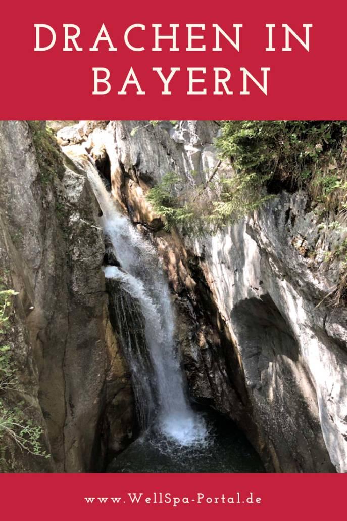 Ausflugsziel Tatzlwurm Wasserfall Sudelfeld Bayern Auszeit. #Tipp #Idee #Bayern #Genussreisetipps #Ausflugsziel