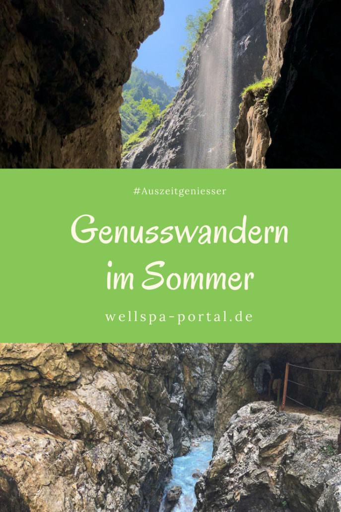 Ausflugsziele fürs Wochenende. Wandern in untersciedlichen Klamms in Bayernzu jeder Jahreszeit ein Genussabenteuer. #Auszeit #Auszeitgeniesser #Sommer #Wandern #Genusswandern #Bayern